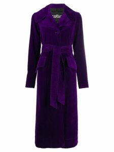 Marc Jacobs belted trench coat - Purple