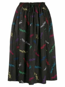 Marc Jacobs New York print skirt - Black
