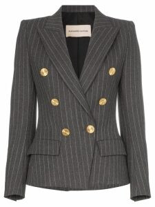 Alexandre Vauthier double-breasted pinstripe blazer - Grey