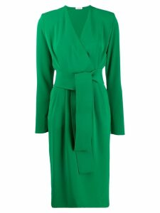 P.A.R.O.S.H. V-neck dress - Green