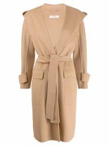 'S Max Mara tie waist coat - Brown