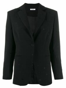P.A.R.O.S.H. embroidered star blazer - Black