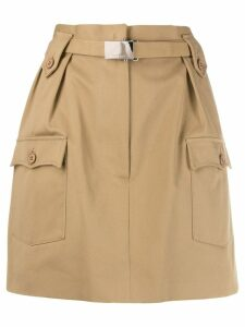 Miu Miu cargo skirt - Neutrals