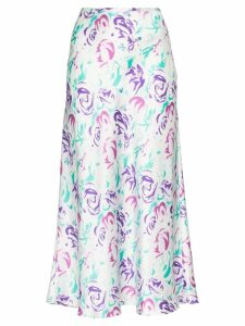 Rixo Kelly floral print midi skirt - Multicoloured