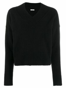 P.A.R.O.S.H. V-neck jumper - Black