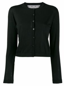 Red Valentino buttoned cardigan - Black