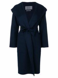 Max Mara belted coat - Blue