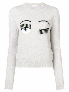 Chiara Ferragni Blinking Eye sweater - Grey