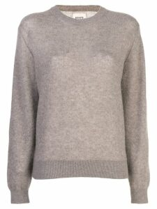 Khaite Barley cable knit jumper - Brown