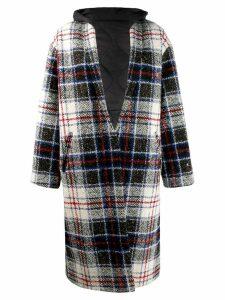 Forte Dei Marmi Couture tartan chequered coat - Neutrals