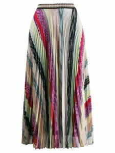 Missoni pleated midi skirt - PINK