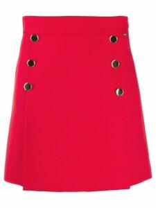 Liu Jo button-detail short skirt - Red