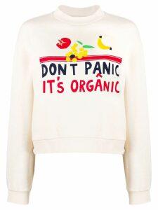 Être Cécile Don't Panic It's Organic sweater - Neutrals