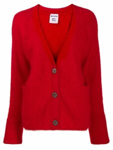 Semicouture V-neck cardigan - Red