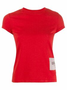 Rick Owens fitted crew neck T-shirt - Red