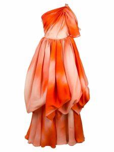 Isabel Sanchis tie-dye asymmetric dress - Multicolour