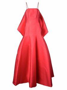 Isabel Sanchis flared maxi dress
