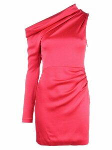 Cushnie asymmetric mini dress - Pink