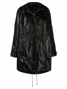 Drome hooded coat - Black
