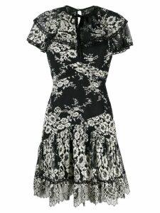 Three Floor Sheer Elegance dress - Black