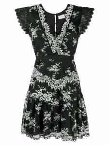 Three Floor Lace Parade dress - Black