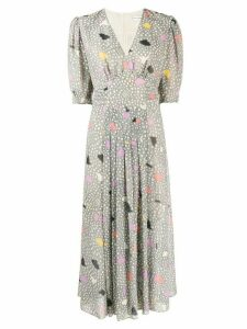 Three Floor Dada printed dress - Grey