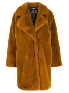 Luisa Cerano Teddy faux-fur coat - NEUTRALS