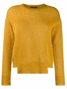 Luisa Cerano crew neck jumper - Yellow