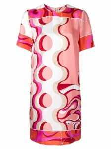 Emilio Pucci Copacabana Print Silk Mini Dress - Pink