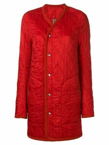 Rick Owens quilted jacket - Red
