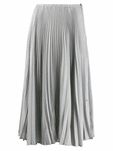 Fendi Sunray pleated skirt - Grey