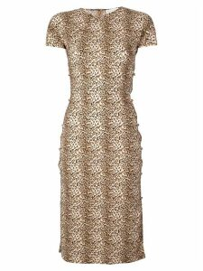 Marcia Tchikiboum dress - Brown