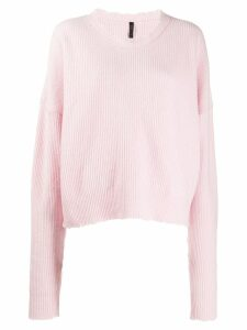 Unravel Project relaxed fit jumper - Pink
