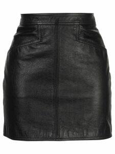 Saint Laurent fitted mini skirt - Black