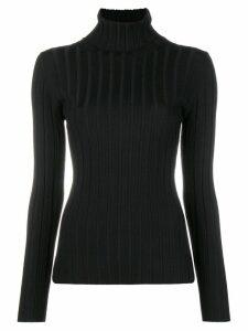 Aspesi stretch fitted top - Black