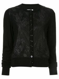 Mm6 Maison Margiela lace classic cardigan - Black