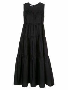 Co gathered flared dress - Black