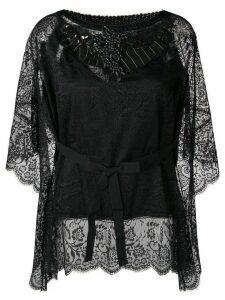 Antonio Marras embellished lace blouse - Black