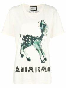 Gucci Bambi Animismo T-shirt - Neutrals
