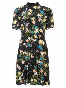 Erdem floral print dress - Black