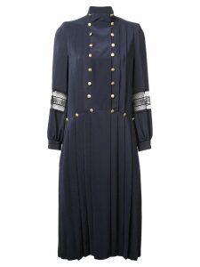 Philosophy Di Lorenzo Serafini embellished flared dress - Blue