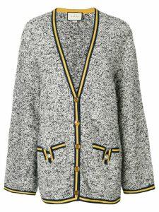 Gucci oversized cardigan - Blue