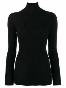 Agnona turtle neck jumper - Black