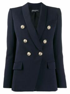 Balmain double breasted blazer - Blue