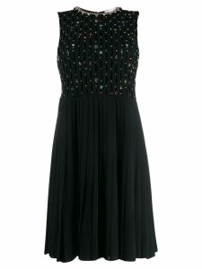 Red Valentino beaded dress - Black
