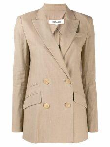 Diane von Furstenberg Madison blazer - NEUTRALS