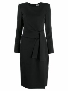P.A.R.O.S.H. long-sleeved midi dress - Black