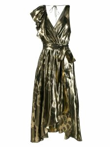 Temperley London Eda cocktail dress - Gold