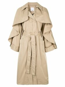 Acler Fairfax trench coat - Brown