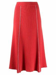 Pringle Of Scotland a-line skirt - Orange